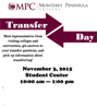 November 1 is MPC Transfer Day!