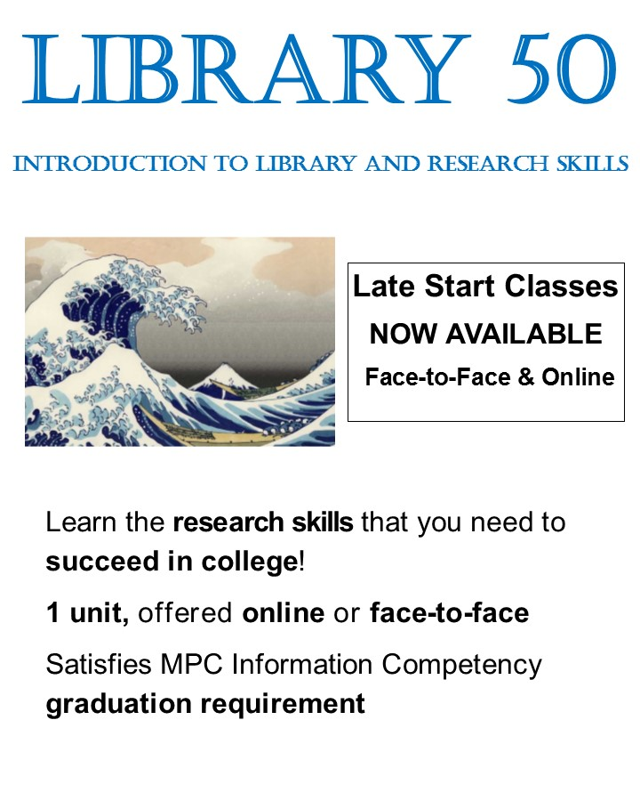 Library 50 classes this Fall