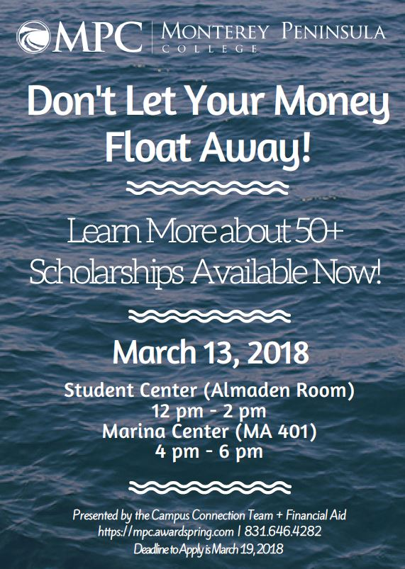 Campus Connection Money Floats Flyer Image