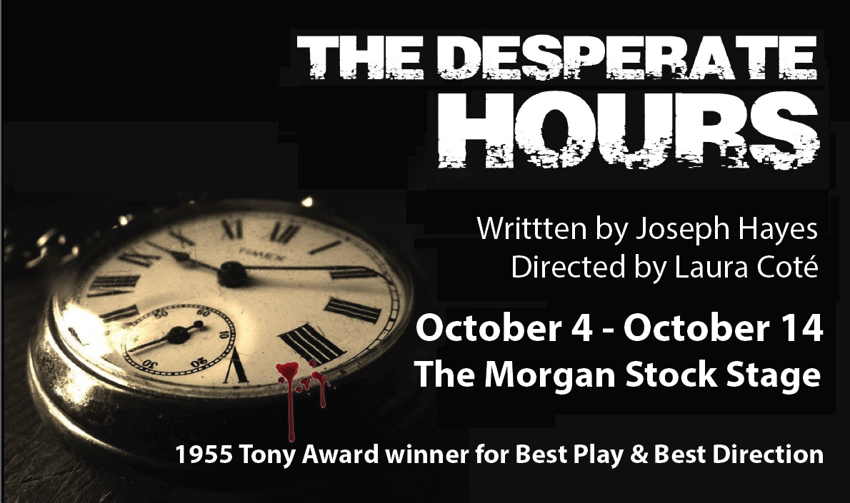 Desperate Hours Album Cover (Oct 4-14)