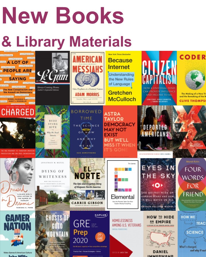 New Books and Materials