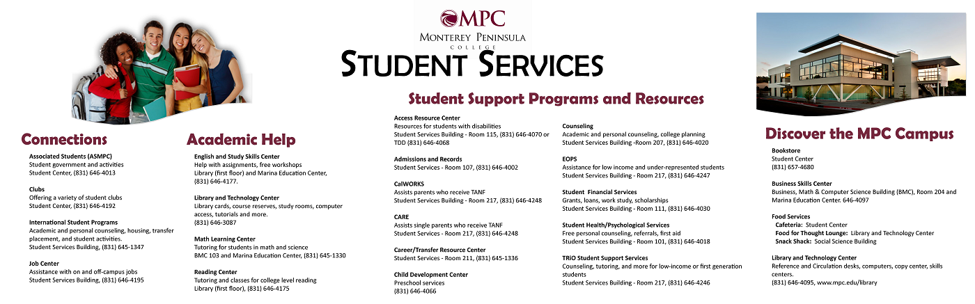 Student Services Banner - Small