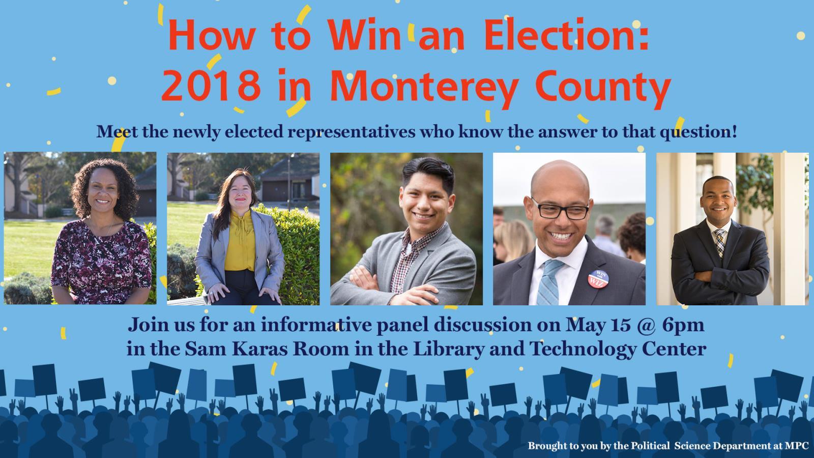 Monterey School District Calendar 2021-2022 How to Win an Election: 2018 in Monterey County   Calendar