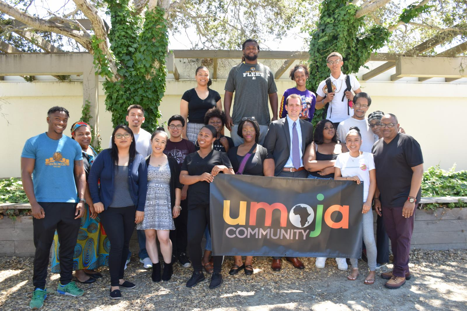 Photo of Umoja Students after joining the program