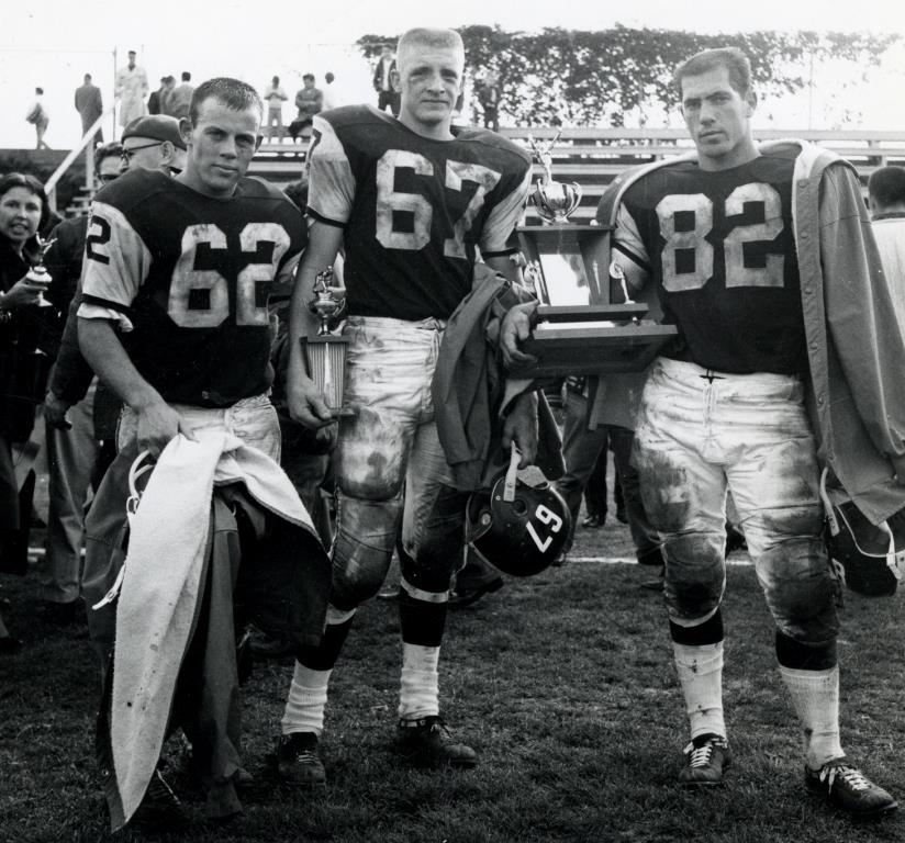 Lettuce Bowl 1961 with trophy