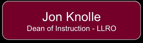 Jon Knolle Button